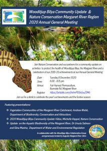 Nature Conservation Margaret River Region: AGM & Wooditjup Bilya Community Update